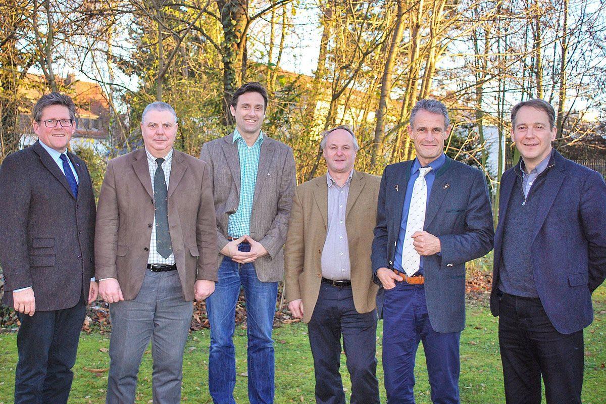 von links: Herr Karl Apel, Herr Dr. Ralf Gruner, Herr Arne Sengpiel, Herr Robert Staufer, Herr Norbert Riehl, Herr Prof. Dr. Jaeger